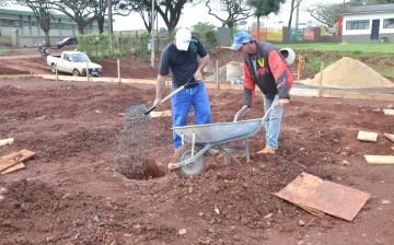 Após a fundação iniciará a supraestrutura da obra