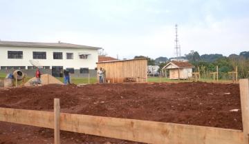 O Posto de Saúde da Vila Recife está sendo construído ao lado CMEI Nosso Lar (APMI)