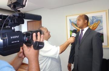 Luiz Claudio da Silva Alves relatou pretende juntamente com sua equipe de policiais civis prestar um bom serviço à população