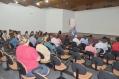 A reunião aconteceu no Centro Cultural