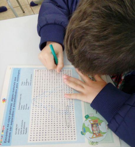 Escola Municipal do Campo João Bertoli conta com atividades sobre a importância do meio ambiente