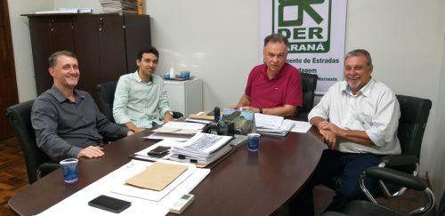 Prefeito Baco cumpre agenda de trabalho em Maringá