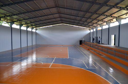 Ginásio de Yolanda se transforma em um complexo esportivo e de lazer