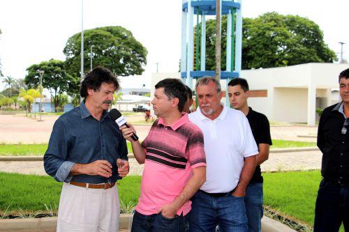 Deputado Federal Frangão visita Ubiratã e anuncia mais recursos para o município