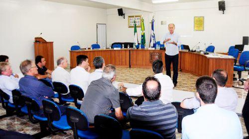 Secretário de Desenvolvimento Econômico de Ubiratã participa de encontro do Consórcio Piquiri em Formosa do Oeste