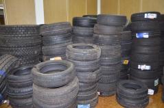 Os pneus estão avaliados em R$ 49.000,00 reais.