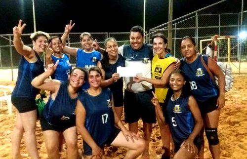 Ubiratã é campeã da Copa Entre Rios de Handbeach Feminino
