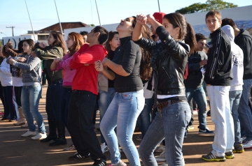 Em todas as edições do Dia do Desafio há uma grande participação da juventude