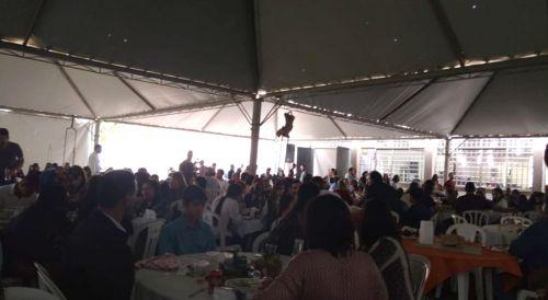 Dia do Padroeiro foi comemorado com missa e tradicional almoço