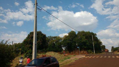 """Município investe na extensão da rede de iluminação pública para correção dos """"pontos cegos"""""""