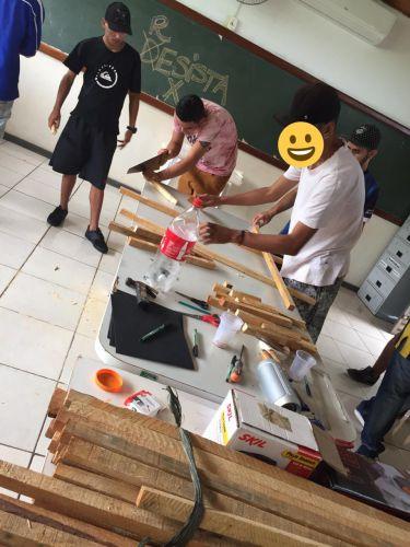 Projeto A-COR-DAR na Comunidade realiza mais um lindo trabalho