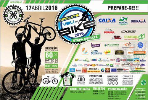 """Circuito """"Vou de Bike 2016"""" acontece neste domingo"""