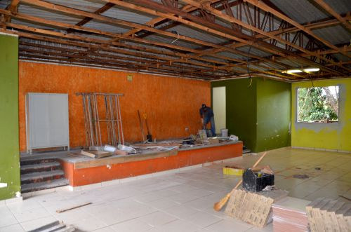 Reforma no prédio do Colégio Quintino Bocaiúva e Escola Monteiro Lobato vai melhor infraestrutura do local