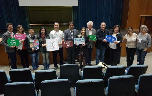 """Secretário ubiratanense apresenta ações de Ubiratã no lançamento da campanha """"Too fazendo a minha parte"""""""