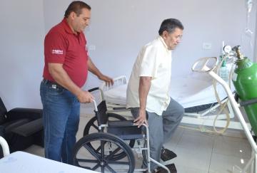 Os profissionais do volante tratam os pacientes com respeito, carinho e segurança
