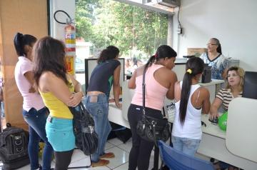 A Agência do Trabalhador de Ubiratã realiza com frequência um trabalho de intermediação de mão de obra