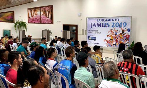 Evento de lançamento oficial tratou detalhes dos JAMUs 2019