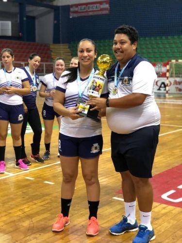 Ubiratã é vice-campeã no Paranaense de Handebol Categoria Livre - Série Prata