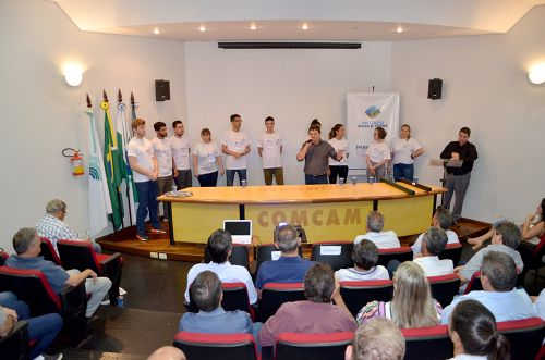 """Comcam recebe a """"Caravana do ICMS Ecológico""""; Ubiratã conta com 13,89% de área verde"""