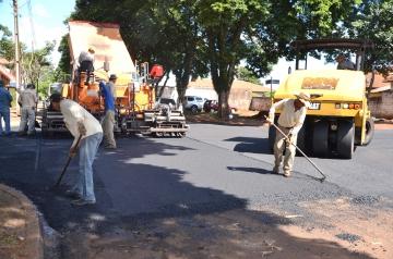 O valor utilizado é uma reprogramação de saldo do convênio firmado ano passado para o recape da Avenida Nilza de Oliveira