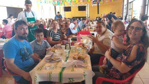 Festa da São João começou com tradicional almoço