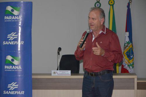 Sanepar fez audiência pública em Ubiratã