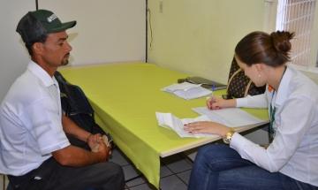 As entrevistas aconteceram na Agência do Trabalhador