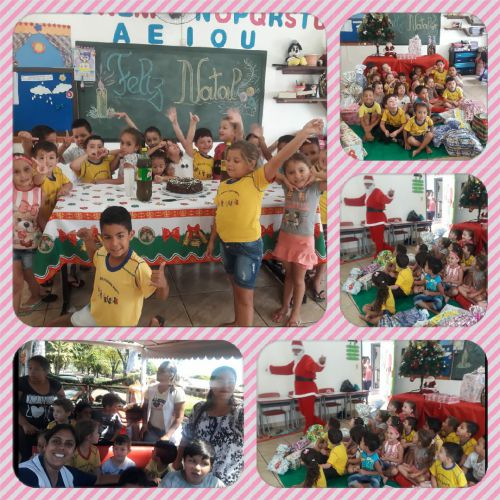 Natal do Centro Municipal de Educação Infantil Arte de Crescer