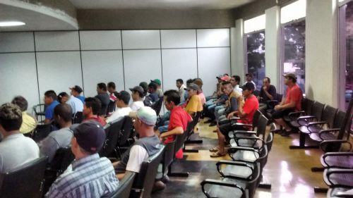 Reunião definiu detalhes para ubiratanense trabalhar no raleio da maçã em Santa Catarina