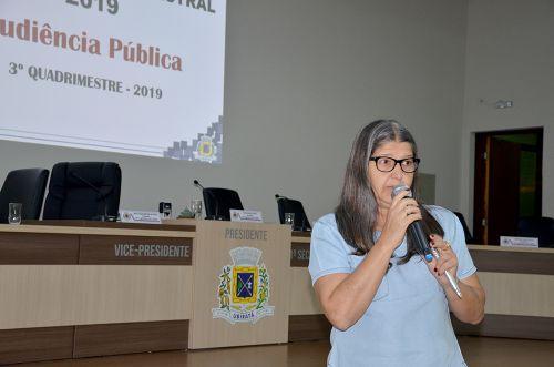 Resultados do 3º Quadrimestre de 2019 foram apresentados em Audiência Pública
