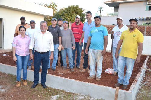 Curso de qualificação profissional para pedreiros está acontecendo em Ubiratã