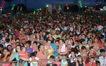 A Praça Horácio José Ribeiro será palco de grandes shows que prometem animar a população