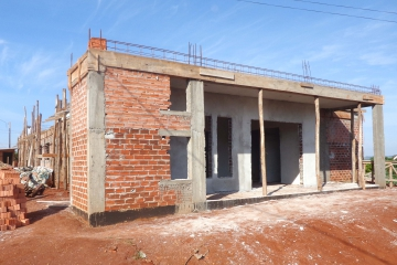 Estão sendo investidos R$ 519.882,91 na construção do posto de saúde
