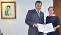 Fábio D'Alécio entregou à Ministra Chefe da Casa Civil, Gleisi Hoffmann a pauta de reivindicações do município de Ubiratã