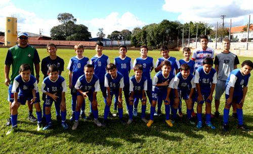 Confira os resultados do futebol de base de Ubiratã no fim de semana