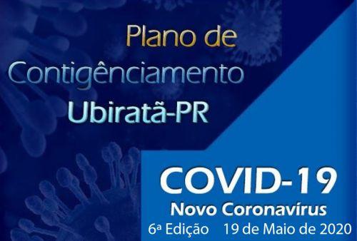 Secretaria de Saúde disponibiliza 6ª edição do plano de contigênciamento do novo Coronavírus (COVID-19)