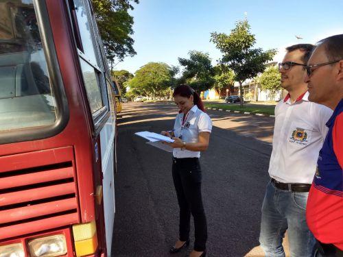 Controle Interno realiza auditoria na frota do município