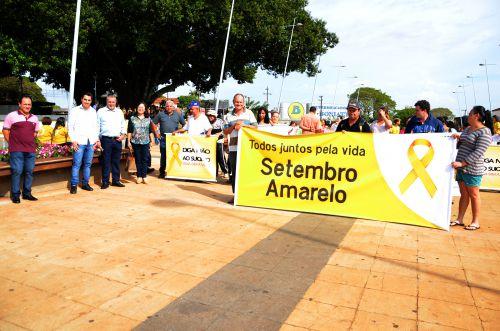 """""""Caminhada: Todos juntos pela vida"""" mobilizou comunidade ubiratanense"""