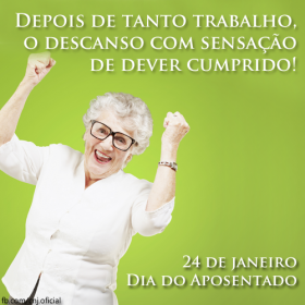Município promove evento para comemorar dia do aposentado