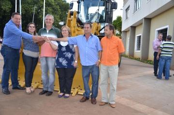 Equipamento foi adquirido através de convênio com o Ministério da Agricultura oriundo de Emenda Parlamentar do Senador Roberto Requião