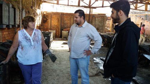 """Empresários estão satisfeitos com investimentos da Administração Municipal que solucionou problema de """"pontos cegos"""" na Perimetral Marcilio Daltro"""