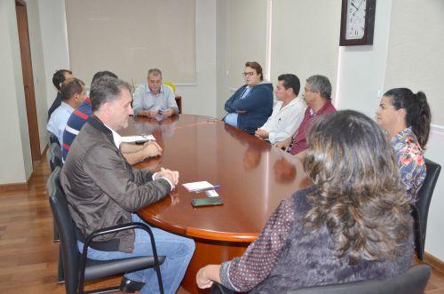 Deputado estadual Felipe Francischini visita prefeito Baco