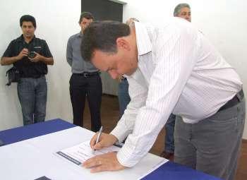 Prefeito Fábio D´Alécio sente-se honrado em poder participar desse momento histórico para o município de Ubiratã