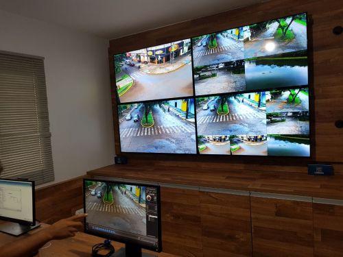 Ubiratã implanta sistema de monitoramento por câmeras