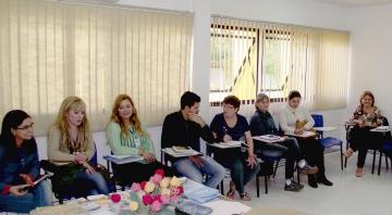 Representantes da Agência da Previdência Social de Campo Mourão participaram de uma reunião de técnica de trabalho no Cras em Ubiratã
