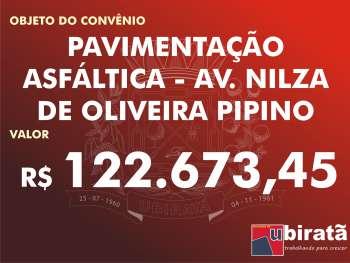 Quase R$ 20 milhões em convênios foram assinados em Ubiratã