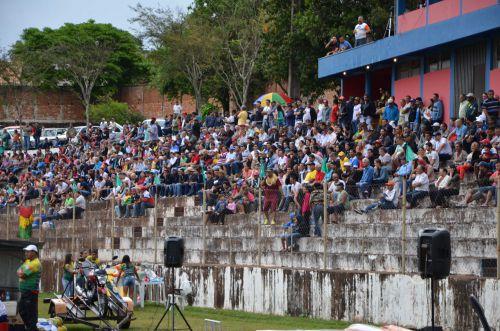 O Estádio Municipal Claudinão foi o