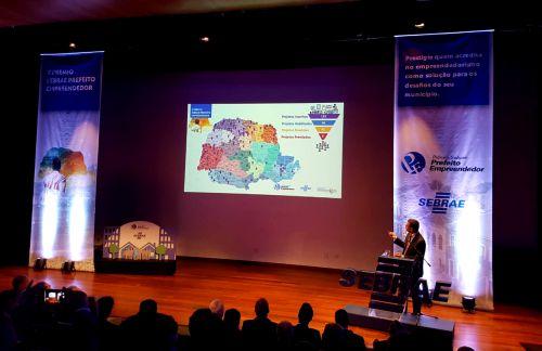 Ações desenvolvidas em Ubiratã são reconhecidas no 10º Prêmio Sebrae Prefeito Empreendedor