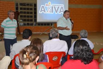 Prefeito Baco e secretário Nilson Messa lançaram programa ?Comunidade Ativa? em Yolanda