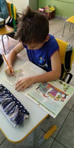 Conscientização ambiental é tema de aulas na Escola Municipal Cleide Maria Zamprônio